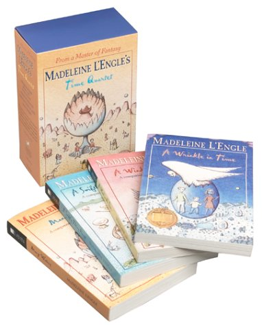 Madeleine Lengles Time Quartet Box Set  A Wrinkle In Time  A Wind In The Door  A Swiftly Tilting Planet  Many Waters