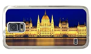 Hipster Samsung Galaxy S5 Cases leather parliament budapest hungary PC Transparent for Samsung S5