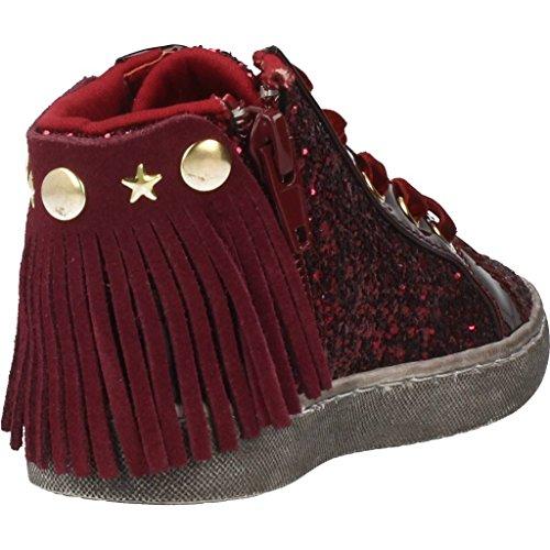 Lu Zapatillas Para Niña, Color Rojo, Marca Lulu, Modelo Zapatillas Para Niña Lulu Frangetta Glitter Rojo Rojo