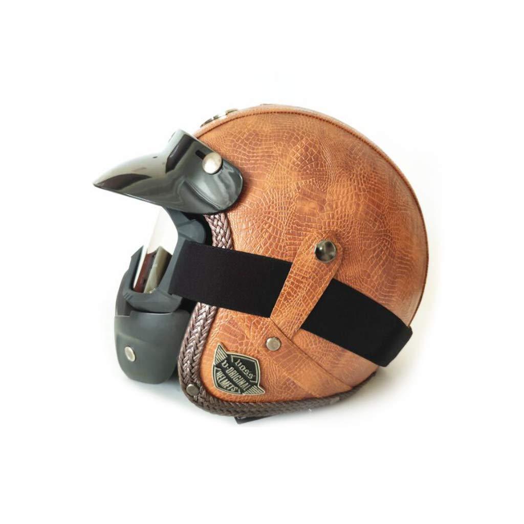 激安先着 ヘルメット B B07PZSLVGY オートバイのヘルメット、レトロオートサイクルヘルメット男性女性オールラウンドサイクリング安全キャップペダルオートバイ電気自動車付きマスク B07PZSLVGY B XL XL XL B, 浦河郡:781db4f4 --- senas.4x4.lt