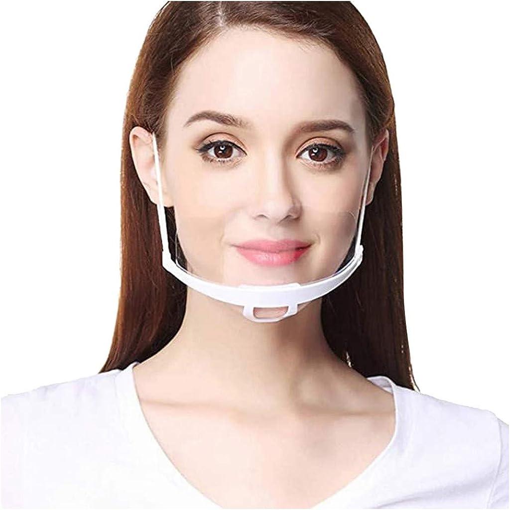 20 PCS Work Wear Men Women Transparent Plastic Face