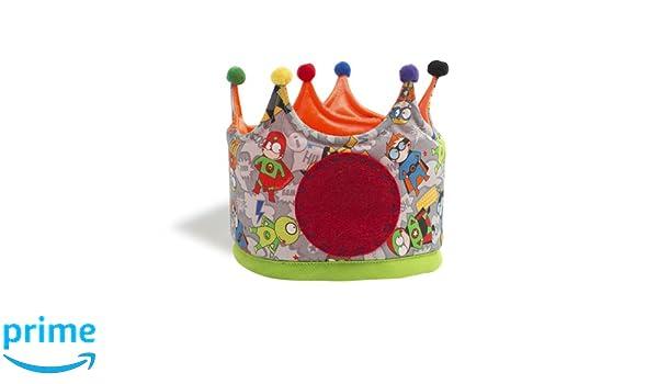 Micumacu Superhéroes Corona cumpleaños Color gris Petit Estudi SCP CG0170: Amazon.es: Juguetes y juegos