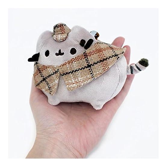 Pusheen Detective Plush   Bag Clip - 4.5 Inches 7