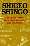 img - for Zero Quality Control: Source Inspection and the Poka-Yoke System book / textbook / text book