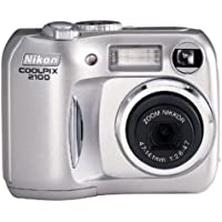 Nikon Coolpix 2100 2MP Digital Camera w/ 3x Optical Zoom Key Pieces Review Image
