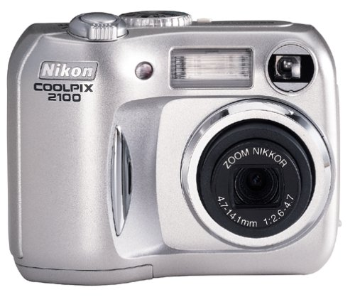 Nikon Coolpix 2100 2MP Digital Camera w/ 3x Optical Zoom (Coolpix Nikon Megapixels 2)