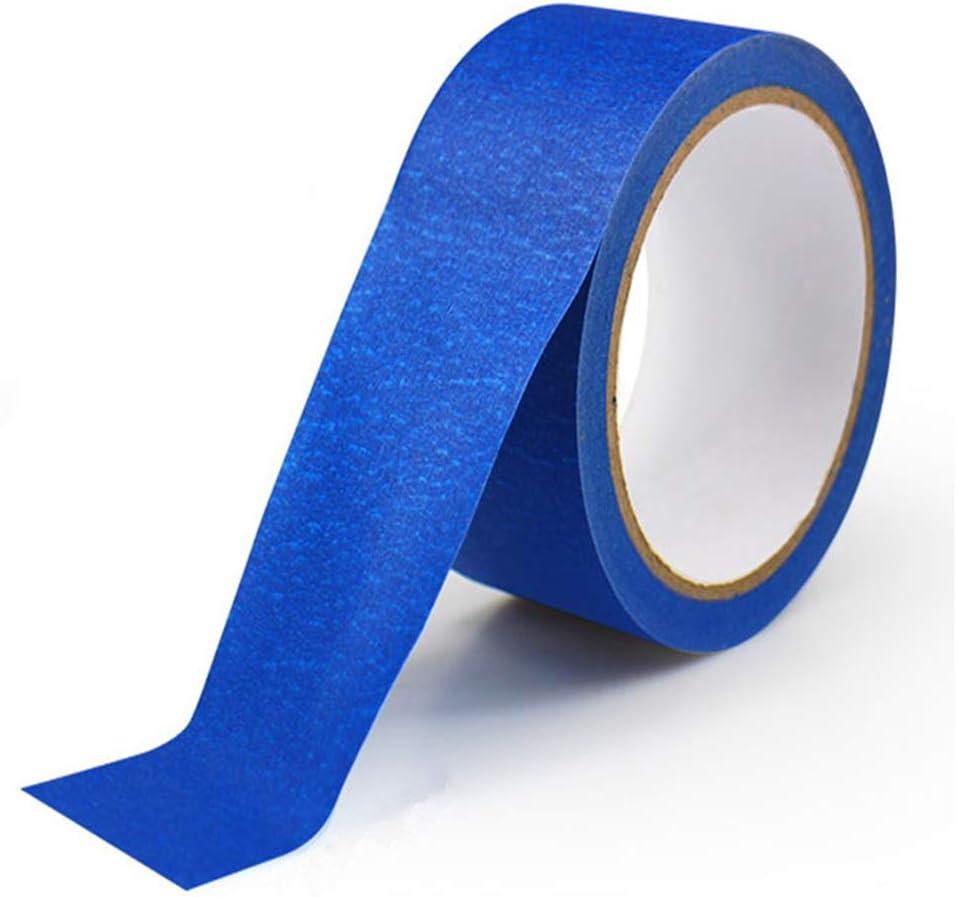 Limeo Cinta de Enmascarar Azul Cinta de Pintor Azul Cinta Adhesiva ...