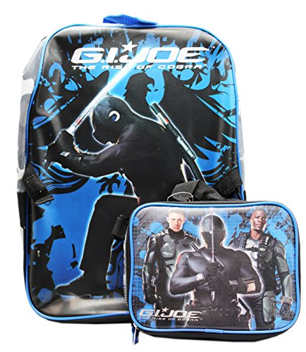 - G.I. Joe The Rise of Cobra Full Size Backpack and Utility Bag (16in)