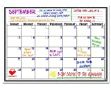 Smart Planner Magnetic Dry Erase Board Monthly Calendar Planner, 12 x 16-Inch