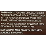Equal Exchange Organic Very Dark Chocolate, 2.8 Ounce, Pack of 6 13 Contains 6 packs of 2.8 oz Very Dark Chocolate TASTE: Rich Dark Chocolate Bar Very Dark 71% Cacao.  Vegan, Soy & Gluten Free Crafted Soy & Gluten Free