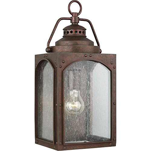 Copper Outdoor Wall Sconce Light in Florida - 9
