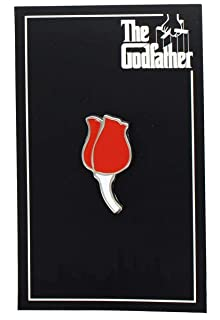 WaxOffDesigns The Godfather Rose Enamel Collector Pin