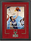 Milwaukee Bucks Deluxe 16'' x 20'' Frame - Fanatics Authentic Certified - NBA Other Display Cases
