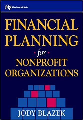 Financial Planning for Nonprofit Organizations by Jody Blazek (2000-10-05)