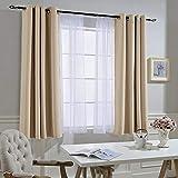 NICETOWN Bedroom Curtains Room Darkening Draperies