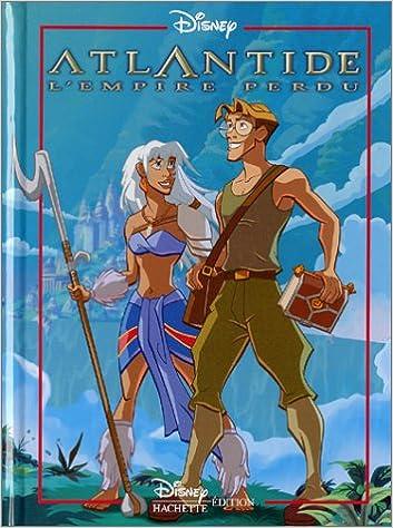 Amazon Fr Atlantide L Empire Perdu Walt Disney Productions Livres
