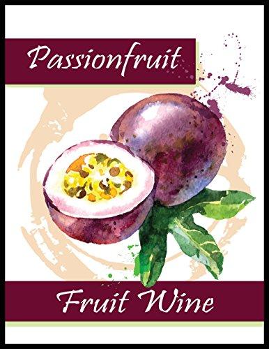 Passionfruit Fruit Wine - Fruit Labels Wine
