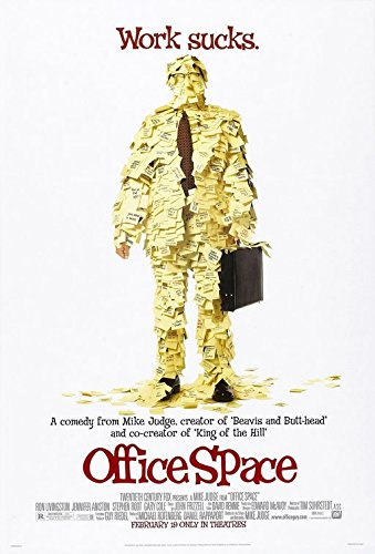 Image result for office space movie poster amazon