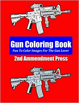 Amazon Gun Coloring Book 9781495935657 Johnny Freedom Books