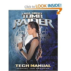 Tomb Raider Tech Manual (Pocket Books Media Tie-In) Michael Jan Friedman