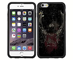 lintao diy Famous 6 Time Basketball Championship Winner Fan Art RUBBER Snap on Phone (iPhone 6)