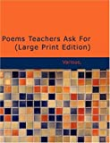 Poems Teachers Ask For, Various, 1437533825