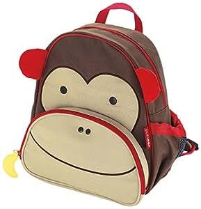 Skip Hop Zoo Pack - Mochila, diseño monkey, color marrón
