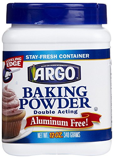 Argo Double Acting Baking Powder 12 oz (2 Pack)