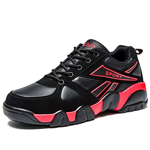 Men's Shoes Feifei Spring and Autumn Leisure Run Wear-Resistant Sports Shoes 3 Colors (Color : 01, Size : EU39/UK6.5/CN40)