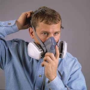 Respirador 3M  7503/37083 de media cara reusable, Large