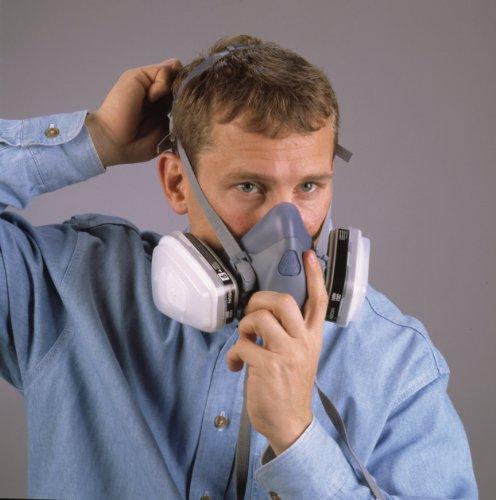 051131370821 - 3M 7500 7502 Series Professional Half Facepiece Respirator (Medium) carousel main 5