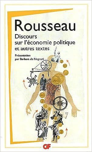 Discours sur l'économie politique (French Edition)