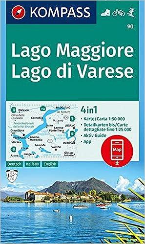 Lago Maggiore Karte.Amazon It Carta Escursionistica N 90 Lago Maggiore Lago Di