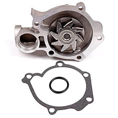 SCITOO Timing Belt Component Kit Tensioner Water Pump Fits 02-06 Kia Optima 2.4L G4JS: Automotive