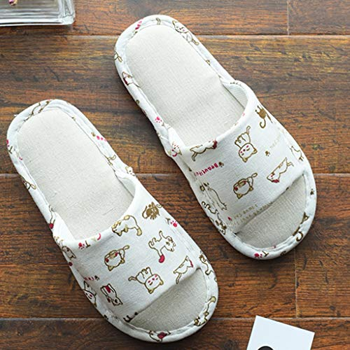 Donna Laosunjia Dimensioni colore Invernali L A Pantofole C 56PwOx4cq