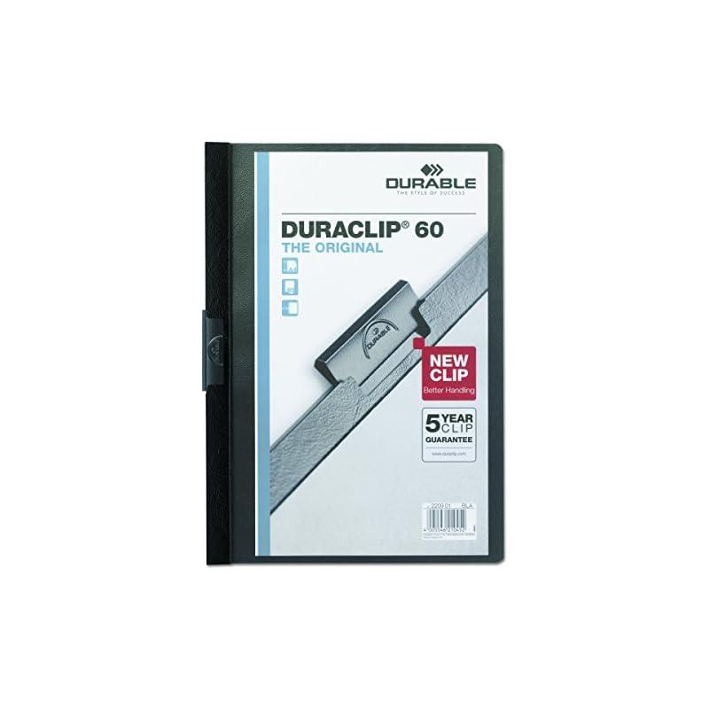 DBL2214BE - Durable Vinyl DuraClip Repor
