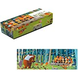 Djeco - Puzzle gallery 100 Pièces - Forest friends