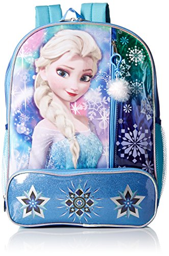 Disney Girls' Frozen Backpack Pom Dangle