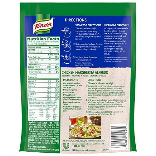 Knorr Pasta Side Dish Alfredo Broccoli 4.5 oz 4 Count