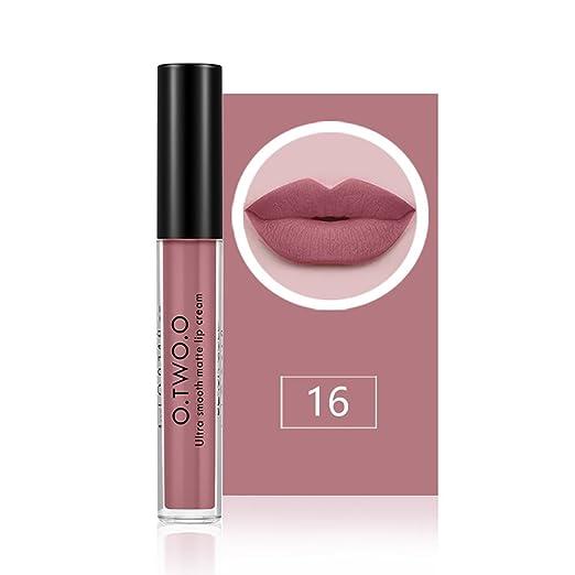 8 opinioni per O.TWO.O Lip Gloss lunga idratante idratante impermeabile Lipstick Lip Gloss 12