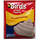 Birds Dream Dessert Topping Mix 6 x 36gm sachet