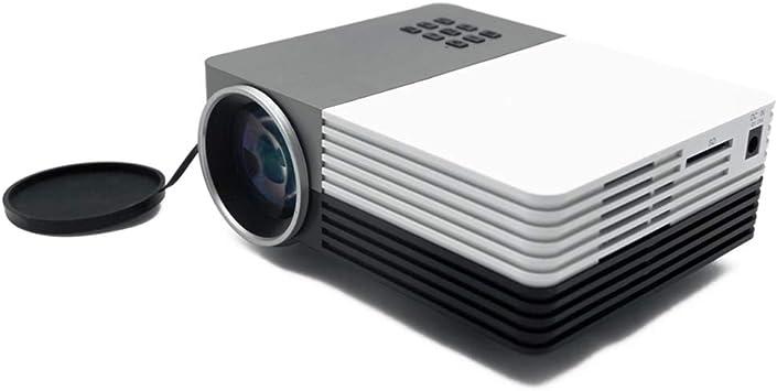 CCCCEEEE Proyector, Mini proyector portátil, proyector Alimentado ...