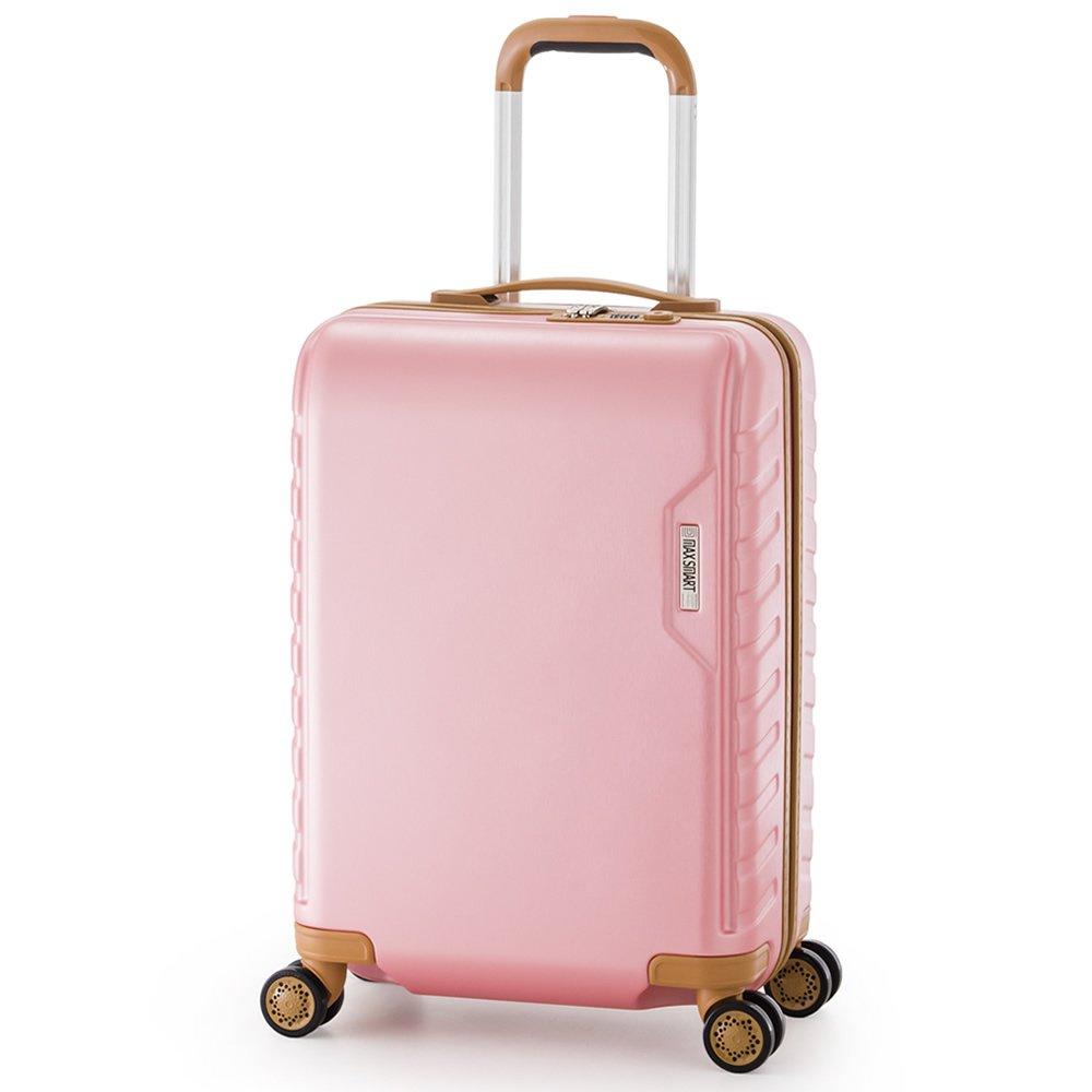 スーツケース MAXSMART ali-ms-202-18  ピンク B071X44K82
