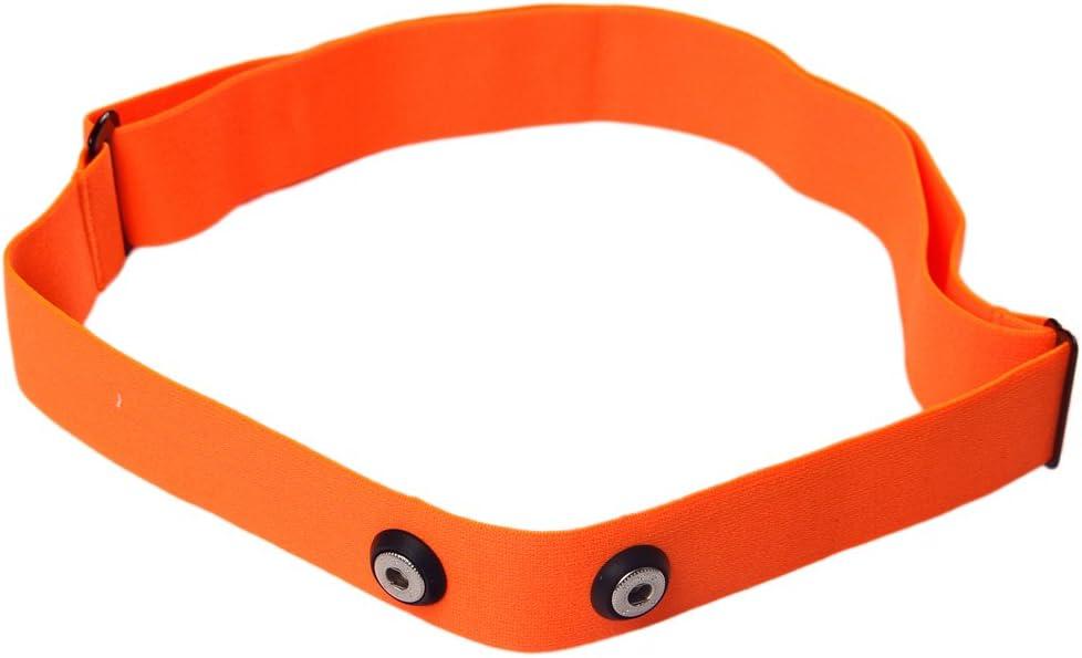 Correa para el pecho Winwill ajustable para monitor de frecuencia cardíaca para Garmin, Wahoo, Polar