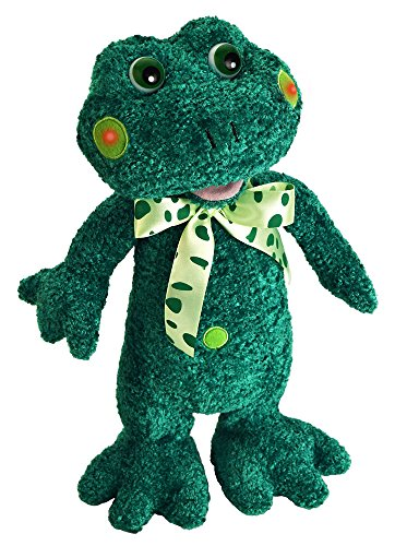 - Chantilly Lane Speckles The Frog Sings A Verse from Five Little Frogs Plush, 15