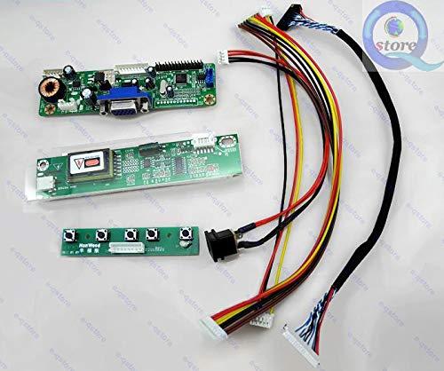 FidgetFidget LCD Driver Board(2270) DIY Kit Lvds Inverter Converter for 1024X768 LTD141EA0V