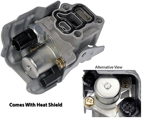 Spool Valve VTEC Solenoid Assembly with Timing Oil Pressure Switch and Gasket for Honda CRV CR-V Civic Si Element Accord Acura RSX (2004 Honda Element Rocker Arm Oil Pressure Switch)