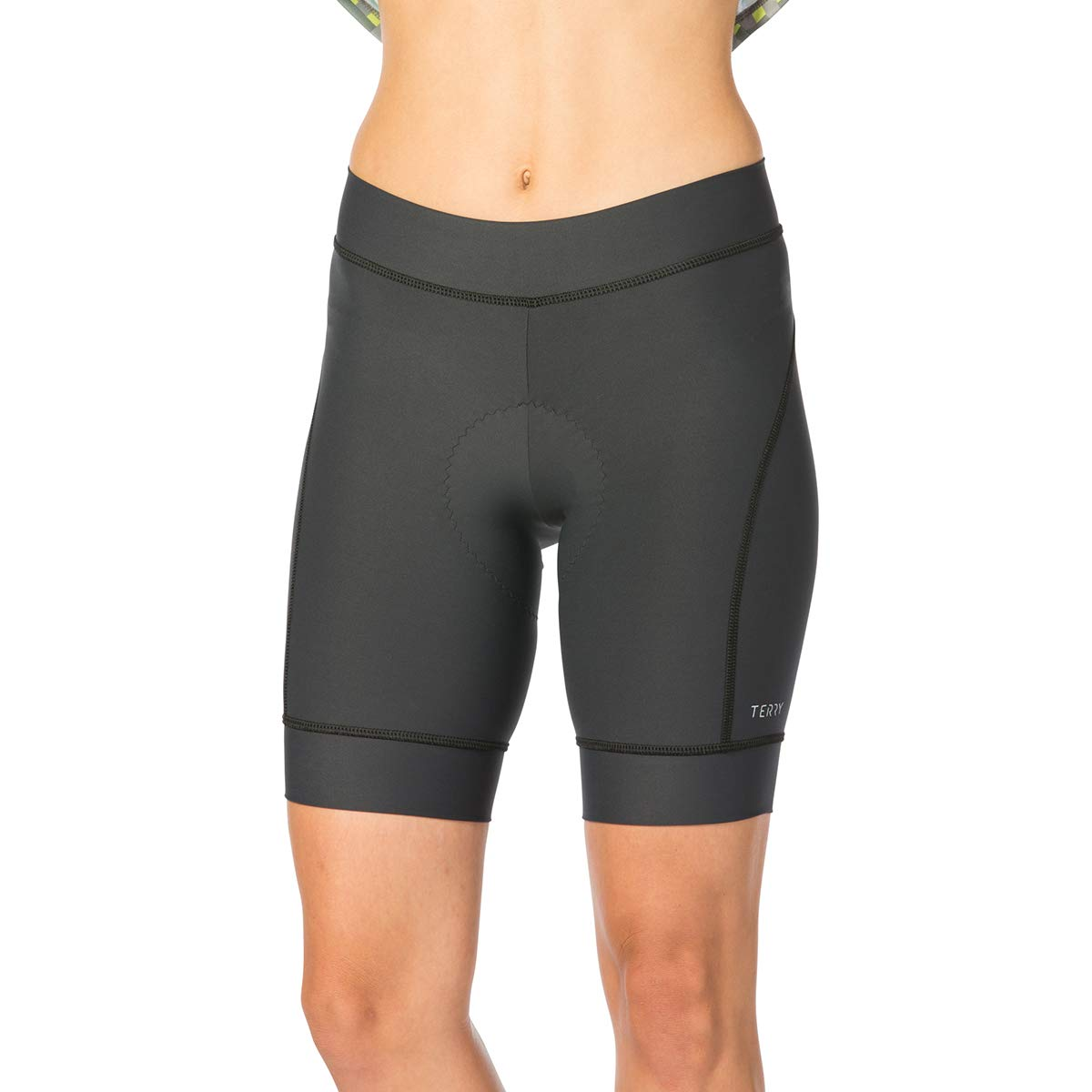 Terry Highly Rated Breakaway Performance Cycling Shorts for Women - Bicycling Magazine Editor's Choice– Charcoal – Small