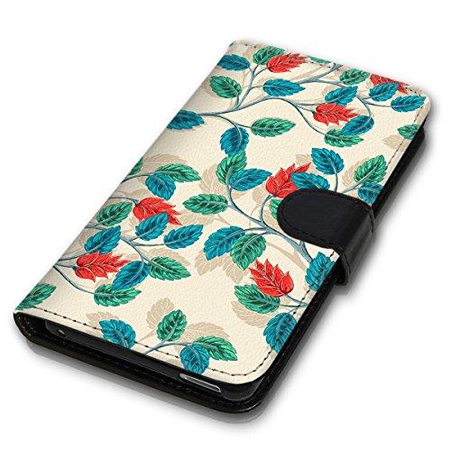 Wallet Book Style Flip Handy Tasche Case Schutz Hülle Schale Motiv Etui für Apple iPhone 5 / 5S - Design Flip MVD153