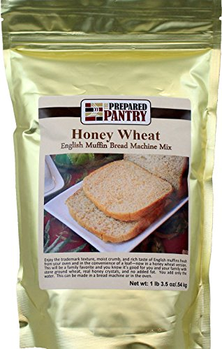 The Prepared Pantry Honey Wheat English Muffin Bread Machine Mix, 19.5 Ounce